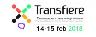 Logo Transfiere, 14 y 15 de febrero