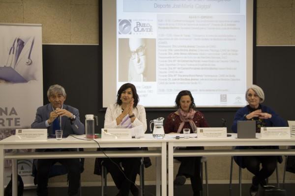José Carlos Jaenes, Mª José Rienda, África Calvo y Leocricia Jiménez