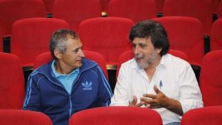 Rafael R. Daga (i) y Juan Jiménez en el CABD