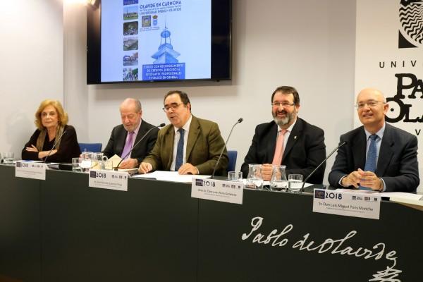 Amparo Rubiales Torrejón, Fernando Rodríguez Villalobos, Vicente Guzmán Fluja, Juan Ávila Gutiérrez y Luis Miguel Pons Moriche