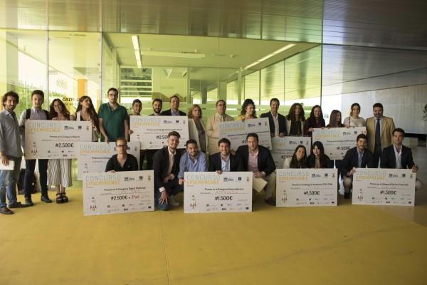 En la entrega de premios se ha reconocido a los 22 proyectos finalistas y a los ganadores de las nueve categorías