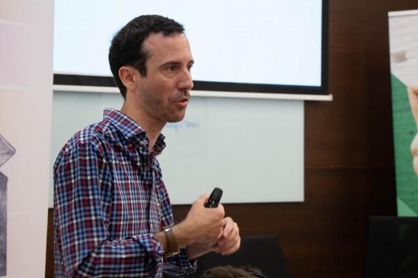 Adrián Yánez Romero, gerente de la Asociación de Gestores Culturales de Andalucía