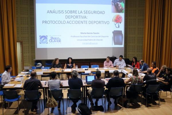Mesa de expertos para crear el Protocolo de Accidentes Deportivos