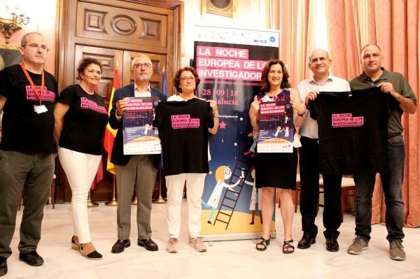 Acto de Presentación de La Noche Europea de l@s Investigad@res
