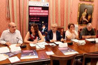 Julián Martínez, Dolores Ferre, Juan M. Flores, Margarita Paneque y Bruno Martínez