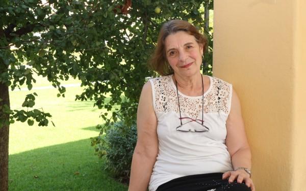 La profesora Aurelia Chillemi