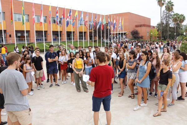 Jornada de Bienvenida para nuevos estudiantes de la UPO