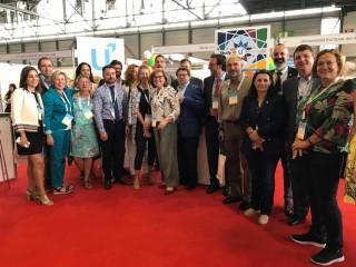 Representantes de las universidades públicas andaluzas en la conferencia de la EAIE