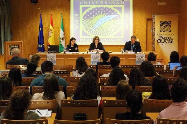 Rosario Moreno, Isabel Lucena y Voadsfas