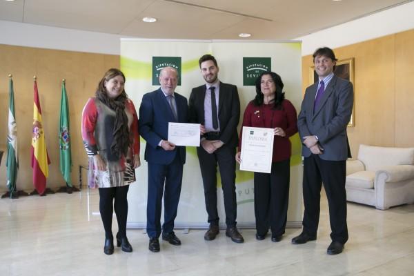 Acto de entrega del IV Premio Rosario Valpuesta | Foto. Diputación de Sevilla
