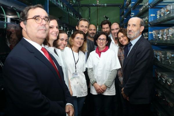 Pedro Duque ha conocido de primera mano el trabajo que desarrolla el Departamento de Regulación Génica y Morfogénesis (GEM)