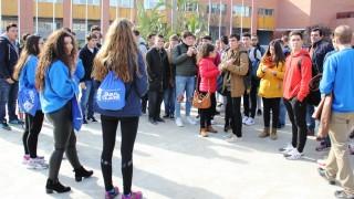 Alumnos y alumnas han realizado un recorrido por el campus guiados por estudiantes de la UPO
