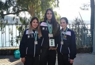 De izquierda a derecha: Estefanía Rodríguez, Mónica Hernández y Lucía Ruiz.
