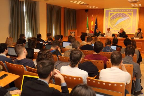 Imagen del IV Seminario de Análisis Electoral celebrado en la mañana de hoy.