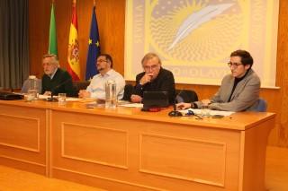 De izquierda a derecha, Francisco Llera, José Francisco Jiménez, Juan Montabes y José Manuel Trujillo.