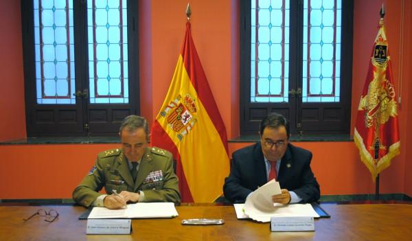 Vicente Guzmán Fluja y  Juan Gómez de Salazar