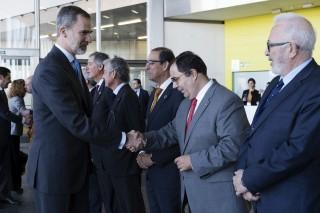 Felipe VI ha presidido el acto central del Foro en FIBES