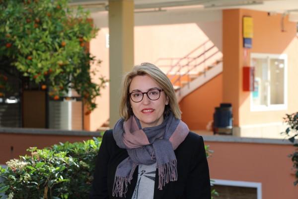 La profesora de la UPO María Fuentes-Blasco.