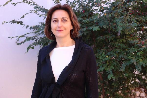 La profesora Mª Victoria Pérez de Guzmán.