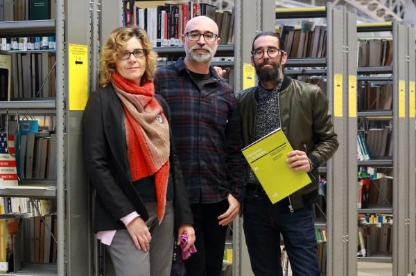 Los autories del estudio, Antonia María Ruiz, Manuel Jiménez y  Luis Navarro