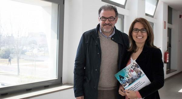 José Antonio Sánchez Medina y Laura López de la Cruz, directores del Máster