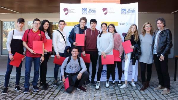 Capitanes de los equipos que participan en el concurso de las Jornadas