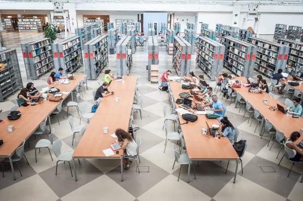 Bilbioteca de la Universidad Pablo de Olavide