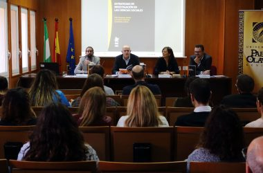 Luis Navarro, Luis Ayuso, Rosa Díaz y Féliz Requena en la charla presentación del libro