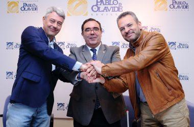 Francisco Javier Fernández, Vicente Guzmán y David Cobos