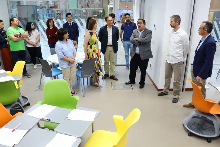 La 'Innovateca' se sitúa en la Biblioteca/CRAI de la Universidad Pablo de Olavide