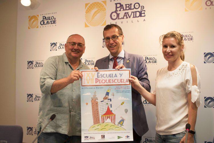 Pedro González-Velasco, David Naranjo y Vera Escalas