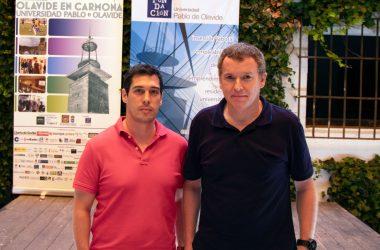 Andrés Robles, director académico del Grado en Ciencias de la Actividad Física y del Deporte del Centro Universitario San Isidoro y Pablo Camacho, responsable del área de conocimiento del Grado