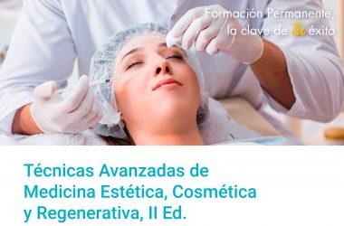 Máster en Medicina Estética, Cosmética y Regenerativa, II ed.