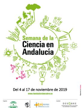 Semana de la Ciencia en Andalucía, del 4 al 17 de noviembre de 2019