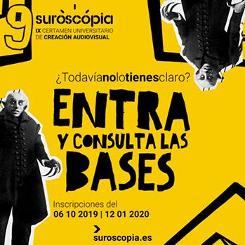 SUROSCOPIA - certamen universitario de creación audiovisual - 9 edición