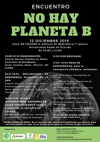 Encuentro No hay planeta B