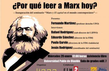 Seminario 'Marx y El Capital en el mundo contemporáneo'