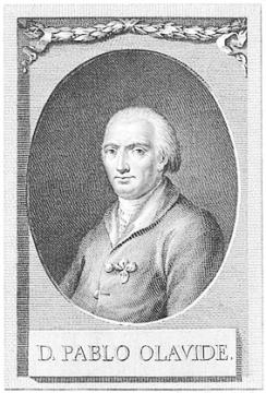 Pablo de Olavide, retrato