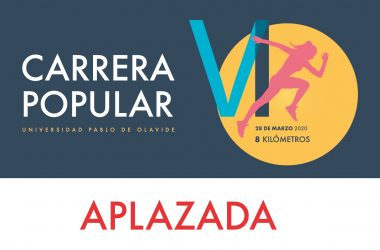 Aplazada la VI Carrera Popular de la Universidad Pablo de Olavide