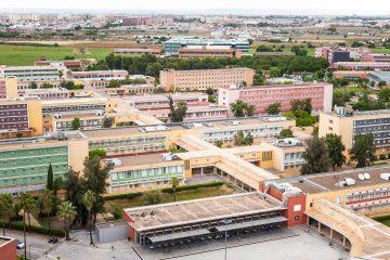 vista del campus de la UPO