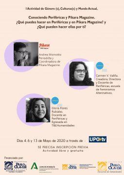 La creación y los primeros pasos de Periféricas y Pikara Magazine @ Online - Universidad Pablo de Olavide