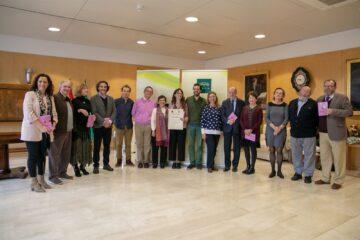 Entrega del premio en la Diputación de Sevilla en su edición de 2019