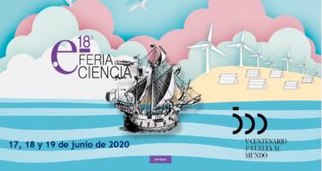 18ª Feria de la Ciencia 2020, un reto virtual @ Online