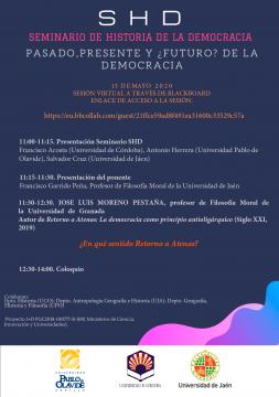 'Pasado, presente y ¿futuro? de la democracia' @ Online - Universidad de Córdoba
