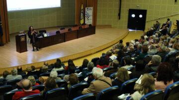 Seminario del Aula Abierta de Mayores de la UPO en el Paraninfo