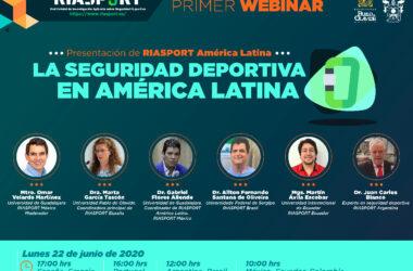 webinar 'La seguridad deportiva en América Latina'
