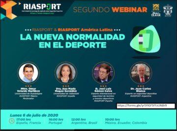 Seminario 'La nueva normalidad en el deporte' @ Online - Universidad Pablo de Olavide