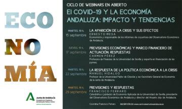 EL COVID-19 Y LA ECONOMÍA ANDALUZA: IMPACTO Y TENDENCIAS @ Online - Centro de Estudios Andaluces