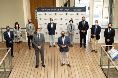 representantes de las universidades públicas andaluzas en Málaga