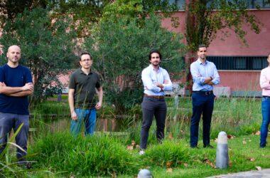 Miguel García, Federico Divina, Fernando Delgado, Francisco Gómez y Domingo Savio Rodríguez.